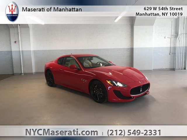 2016 MASERATI GRANTURISMO SPORT WITH NAVIGATION